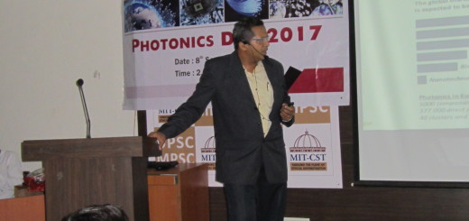 Photonics Day Celebrations @ MIT, Pune